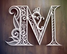 Graffiti Lettering, Lettering Design, Creative Lettering, Paper Cutting, Wood Cutting, Lotus Flower Mandala, Paper Cut Design, Merian, Mandala Pattern