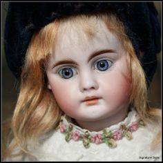 """15""""  Sonneberg Bisque Child, 204, by Bahr and Proschild"""