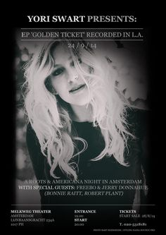EP RELEASE 'GOLDEN TICKET' 24/9/14 @YoriSwart