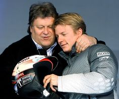 Kimi and Norbert Haug