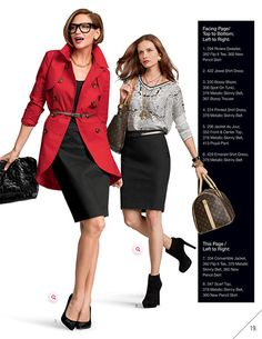 Convertible Jacket, Flip It Tee, New Pencil Skirt, Metallic Skinny Belt, Scarf Top.....CAbi Bonus Book - Style Tips and Suggestions - CAbi