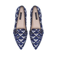 Love! Pattern + Pointed Slipper