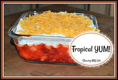 TROPICAL YUM! – Chasing MY Life
