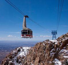 Tram Ride at Sandia Mountains in Albuquerque