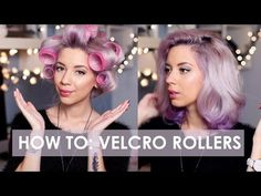 How I use velcro rollers | LLimWalker - YouTube