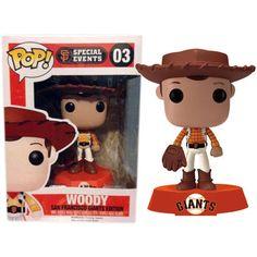 Disney Pop! Vinyl Toy Story SF Giants - Woody