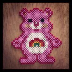 Care Bear hama beads by tezzangirl