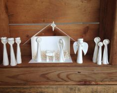 Paper Quilled Nativity Scene Complete Set by APaperLifeOriginals