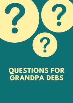 Questions for Grandpa Debs Retail Franchise, Franchise Business, Viral Marketing, Content Marketing Strategy, Promotion Strategy, Marketing Institute, Classroom Training, Album Sales