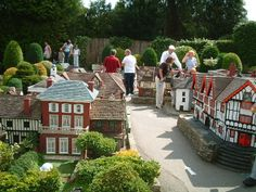 Bekonscot Model Village, Beacosnfield, England - the first model village in the world.