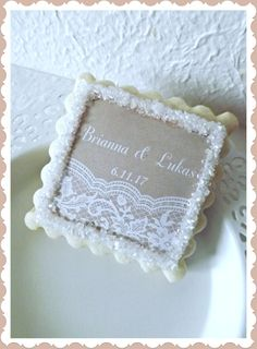 Wedding Thank You Gift-Dessert Table Party by NeverGrowUpBakery