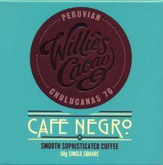 Willies, Cafe Negro dark chocolate & coffee bar