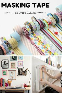 Masking Tape : Idées, Conseils, DIY, Shopping,...