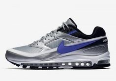 finest selection 709f5 6aa37 Mens Sneakers Nike Air Max 97BW Metallic Silver Violet Blue AO2406-002 Mens