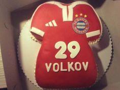 Bayern Munchen Birthday Cake Ideas