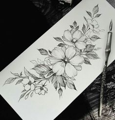 5 Reasons Why You Should Get Tattooed - Full Sleeve Tattoo Desi . - 5 Reasons Why You Should Get Tattooed – Full Sleeve Tattoo Designs – - Full Sleeve Tattoos, Tattoo Sleeve Designs, Flower Tattoo Designs, Flower Tattoos, Simple Tattoo Designs, Tattoo Sketches, Tattoo Drawings, Body Art Tattoos, Female Tattoos