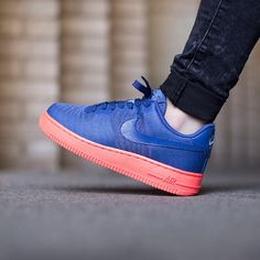 "Nike Wmns Air Force 1 07 Jacquard ""Blue Legend/Blue Legend-Clear Blue"" available @titoloshop"