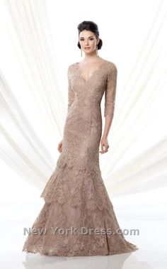 Bella ballet-sleeved gown with tiered skirt by Ivonne D. Make a flawlessly  fashionable a1c4d1ee2c8d