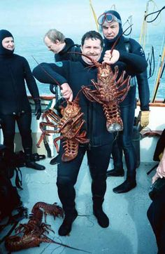 Lobster Hunting/Diving!!