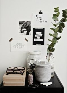 vide-poche ? pense-bête ? #black and #white  - Vosgesparis: A bloggers home
