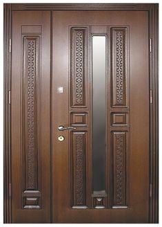 Door And Window Design, Wooden Front Door Design, Double Door Design, Wooden Front Doors, Living Room Partition Design, Room Partition Designs, Latest Door Designs, Classic House Exterior, Double Entry Doors