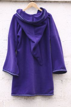 Elven tunic for women Purple  Medieval tunic  SCA  Pixie by tatoke