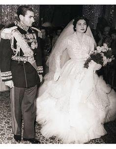 MOHAMED REZA PAHLEVI Y SORAYA ESFANDIARI
