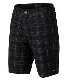 Look what I found on #zulily! Jet Black Hollow Shorts #zulilyfinds
