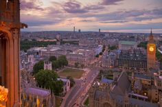 Gettyimages: Palace of Westminster seen from Victoria Tower, London, UK
