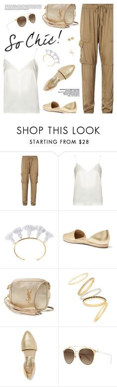 """Chic In The City"" by pokadoll ❤ liked on Polyvore featuring Ralph Lauren, Racil, Marte Frisnes, Michael Kors, Yves Saint Laurent, Madewell, Christian Dior, happyhour, polyvoreeditorial and polyvoreset"