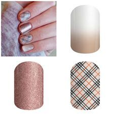 Almond Ombre, Upper East Side & Rose Gold Sparkle
