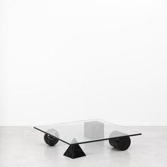 Metafora Coffee table, Massimo Vignelli, Italy 1979 at Beton Brut