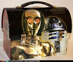 Star Wars Lunch Pail. I would so bring this to work........
