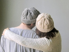A New Classic Knit Hat/ Cozy Knit Hat/ Cable Pattern by Nawanowe, $48.00
