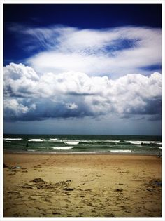 beautiful pic of my favorite place on earth - Holden Beach, NC