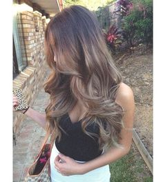 Ash Brown Lovely Locks | Full Head Remy Clip in Human Hair Extensions - Ash…