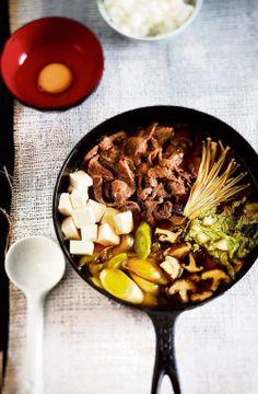 Sukiyaki - Liharuuat - Reseptit - Helsingin Sanomat