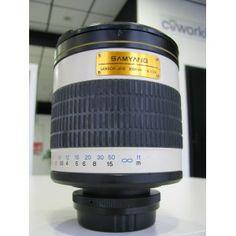 """SE VENDE: """"Objetivo SAMYANG 85 mm, Focal 500 mm"""" http://reestrenando.es/165-objetivo-samyang-85-mm.html"""