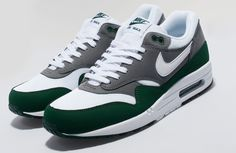 Nike Air Max 1   Grey & Green