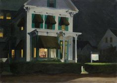 Edward Hopper, Rooms for Tourists, 1945
