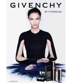 Mariacarla Boscono for Givenchy Le Makeup Fall 2013