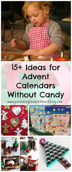 Whether you would prefer to decrease the amount of chocolate your children eat, have a child with dietary restrictions or simply want a really fun way to celebrate advent this year, these non-candy advent calendars are AWESOME. There are different countdo