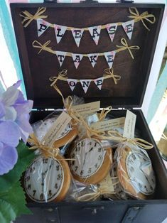 Bridal Shower Party Favor Parting Gift Idea Alice In Wonderland Tea Theme