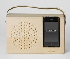 Love The Wood Docking Station.
