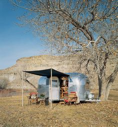 """""""Sometimes I wish I lived in an Airstream, homemade curtains, lived just like a gypsy,"""""""