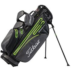 Titleist StaDry Waterproof Stand Bag 2016 Graphite GreyLime *** You can find more details by visiting the image link. Note: It's an affiliate link to Amazon
