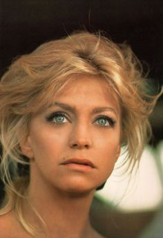 Goldie Hawn. It shouldn't even be possible to be that beautiful.