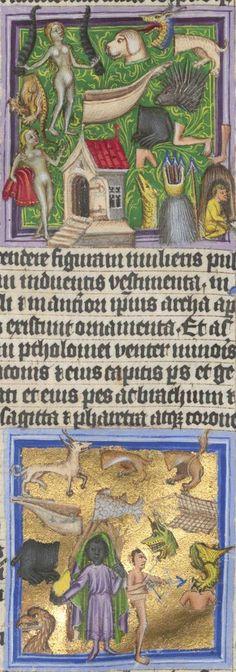Astrologische Handschrift für König Wenzel IV. von Böhmen 14. Jh. Clm 826 Folio 17
