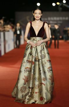 Shu Qi en Valentino Couture - Obsession