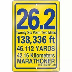 Inspiration for my marathon goal